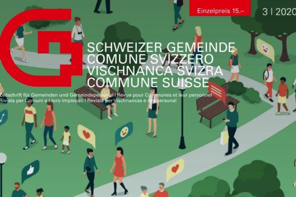 Beitrag im Magazin «Schweizer Gemeinde» zum Thema digitale Mitwirkung