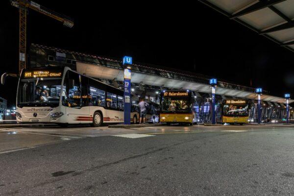 Verkehrsverbund Luzern: Digitale Vernehmlassung zum neuen Nachtnetz 2022