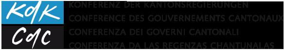 Logo Konferenz der Kantonsregierungen (KdK)